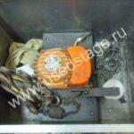 Б/У пульт для лебёдки,и лебедка Balkancar в кофре 250 kg,цепь 6 метров