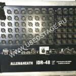 Б/У! Комплект: 1) пульт ALLEN & HEATH iLive-T80 (England)  в кофре.  2) цифровой интерфейс  ALLEN & HEATH IDR-48 (England)  c картой ALLEN & HEATH audio control ACE в рэке SKB.