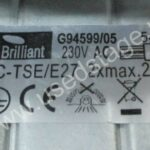 Б/У!Встраиваемый светильник— 2 шт. Brilliant G94599/05 (Germany)