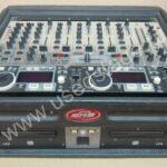 Б/У!Комплект:пульт Behringer VMX1000, сдвоенный DJ контроллер DENON DN-D4500