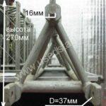 Б/У!Комплект 1) Ферма алюминиевая (Россия), 2) Блок на 4 направления алюминиевый (Россия)