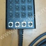 Б/У!Мультикор Horizon16 Х 4 Разъемы XLR 3-PIN.