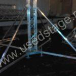 Б/У!Крыша арочная алюминиевая с тентом (China)