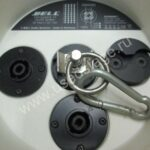 Б/У! Комплект 1) Подвесная АС Bell-Audio Omnisphere 12(Germany), 2) Усилительновый Powersoft Ottocanali 4K4 (Italy)