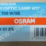 НОВАЯ! Лампа Osram HTI 705 W/SE (Czech Republic) — — аналог Philips MSR 700 SA