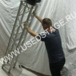 Новая!Площадка для установки светового оборудования для ферм 290х290мм ТОЛЩИНА — 10мм.