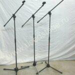 Б/У!Стойка микрофонная Superlux с микрофонными держателями.