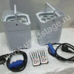 Новый!LED PAR комплект из 4 шт. (China) 6 Х 12watt, 6 in 1