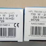 НОВЫЕ!ЛампаOSRAM HPL 750/240