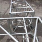 Б/У Ферма алюминиевая на колесах