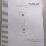 Б/У Комплект настольных светильников TABLED (ITALY) с аккумуляторами.