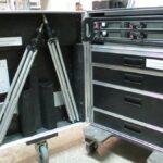 Б/У Комплект-Радиомикрофонов Sennheiser SKM 5200 NI-D (GERMANY), в специальном рэке на колесах.