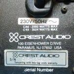Б/У Усилитель СREST AUDIO CA 6 (USA)